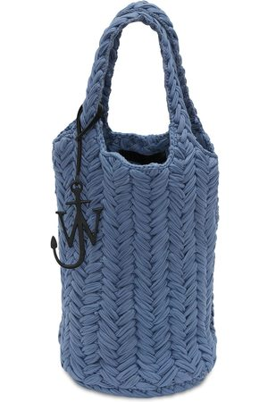 J.W.Anderson Knitted Organic Cotton Tote Bag