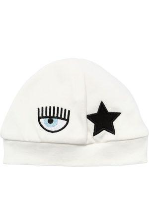 Chiara Ferragni Embroidered Eyestar Interlock Hat