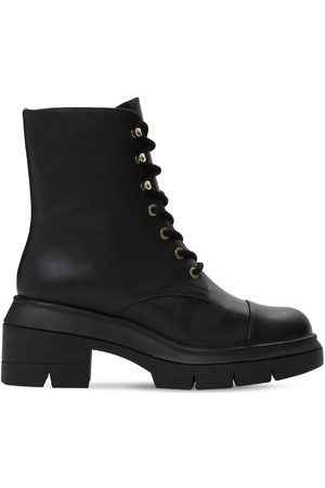 Stuart Weitzman 70mm Nisha Leather Ankle Boots