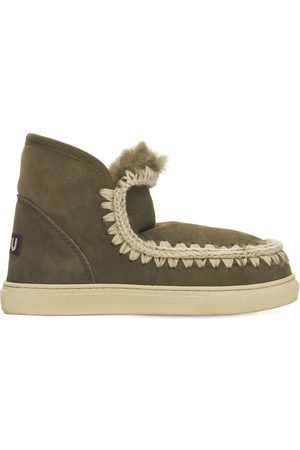 Mou 20mm Eskimo Sneaker Shearling Boots