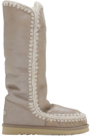 Mou 20mm Eskimo 40 Metallic Shearling Boots