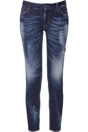 Dsquared2 Medium Waist Denim Skinny Jeans