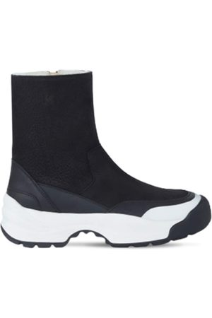 Kenzo Women Ankle Boots - 50mm Work Leather Ankle Boots
