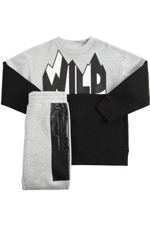 Stella McCartney Boys Sports Trousers - Organic Cotton Sweatshirt & Sweatpants