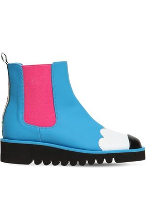 Stella McCartney Girls Boots - Printed Faux Leather Boots