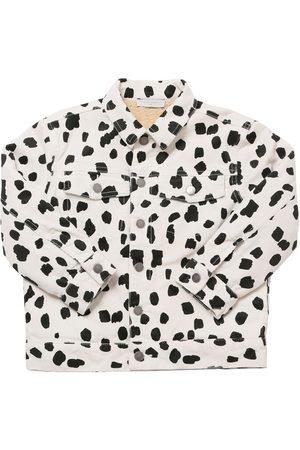 Stella McCartney Dalmatian Print Corduroy Cotton Jacket