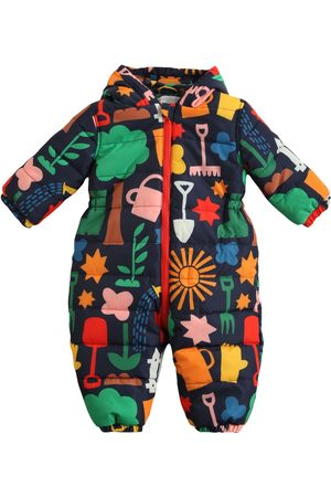 Stella McCartney Girls Bodysuits & All-In-Ones - Printed Hooded Recycled Puffer Romper