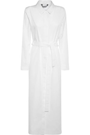 Max Mara Women Casual Dresses - Cotton Poplin Long Shirt Dress