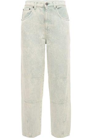 McQ Women High Waisted - Breathe Slit High Waisted Jeans