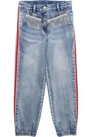 MONNALISA Stretch Cotton Jeans