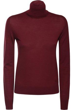 JIL SANDER Women Turtlenecks - Wool Knit Turtleneck Sweater