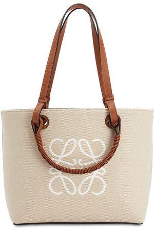 LOEWE Women Tote Bags - Jacquard Anagram Canvas Tote Bag