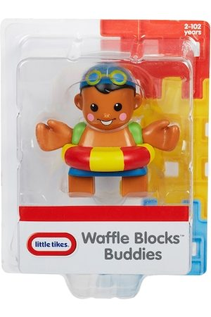 Little Tikes Unisex Kids Brown & Red Waffle Blocks Figure Pack