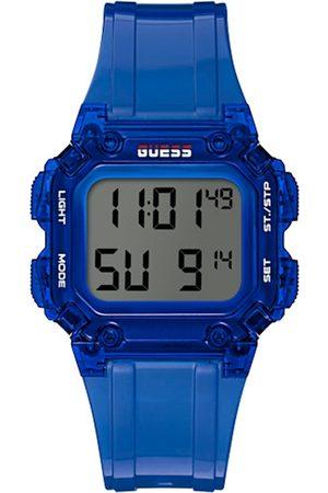 GUESS Men Blue Digital Watch GW0270G3
