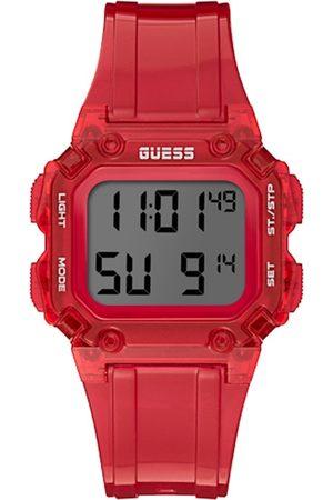 GUESS Men Red Digital Watch GW0270G2
