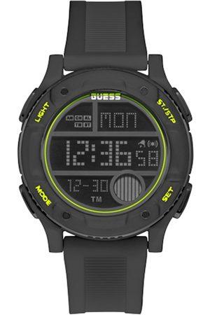 GUESS Men Charcoal Grey Digital Watch GW0225G3
