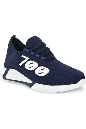 Giorgio Men Navy Blue Mesh Running Shoes