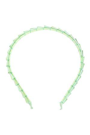 Forever 21 Green Embellished Hairband