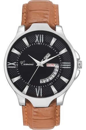 Camerii Men Silver-Toned Analogue Watch