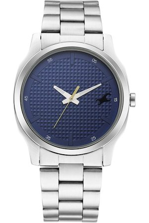 Fastrack Men Blue Analogue Watch 3255SM01