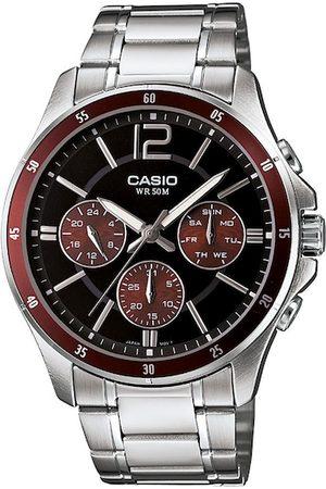 Casio Enticer Men Black Analogue watch A1647 MTP-1374HD-5AVIF