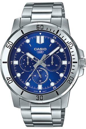 Casio Enticer Men Enticer Blue Analogue Watch A1749 MTP-VD300D-2EUDF