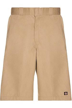 Dickies Men Shorts - 13 Multi Pocket Work Short in Khaki