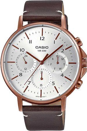 Casio Men Silver-Toned Analogue Watch
