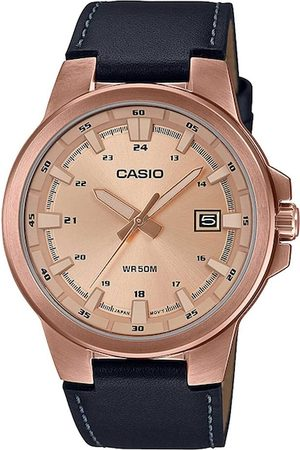 Casio Men Rose Gold Analogue Watch