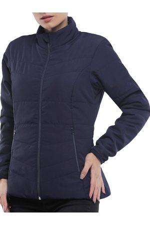 FORCLAZ By Decathlon Women Navy Blue Insulator Outdoor Padded TREK 50 W Insulated Jacket