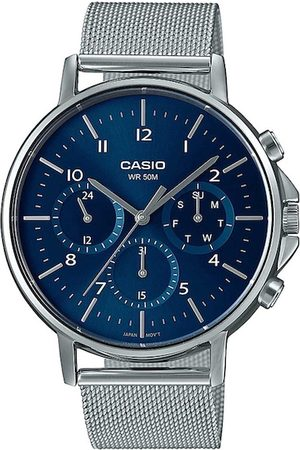 Casio Men Blue Analogue Watch A1848