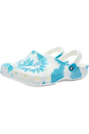 Crocs Men Casual Shoes - Classic Tie Dye Graphic Clog