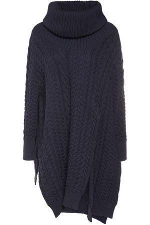 Stella McCartney Women Ponchos & Capes - Oversize Cable Knit Cape