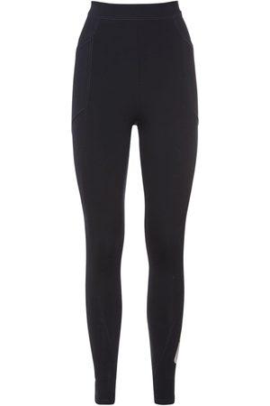 Stella McCartney Women Leggings - Logo Print Jersey Leggings