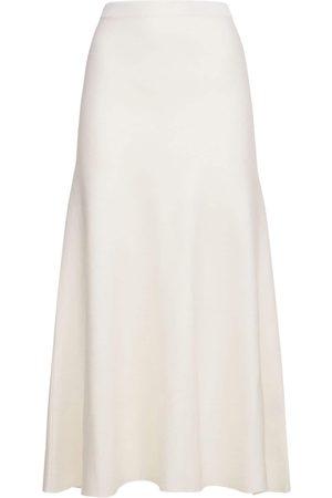 GABRIELA HEARST Wool Blend Knit Midi Skirt
