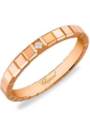 Chopard Rings - Ice Cube 18K Rose & Diamond Ring
