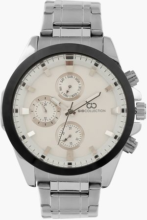 Gio Collection Men Water Resistant Multifunctional Watch- G3008-11