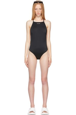 Women Swimsuits - Balenciaga Strappy One-Piece Swimsuit