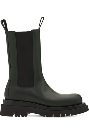 Bottega Veneta 55mm Bv Lug Leather Beatle Boots