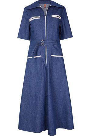 The West Village Shirt Dress Denim