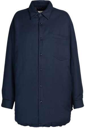 MAISON MARGIELA Flannel Quilted Shirt Jacket