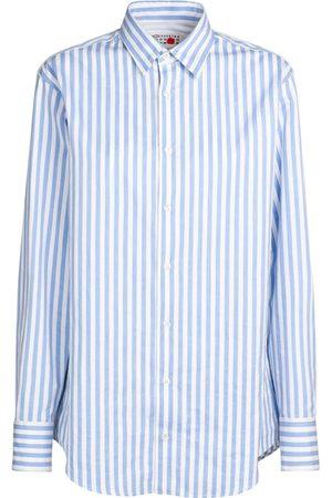 MAISON MARGIELA Striped Cotton Poplin Shirt
