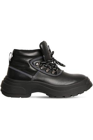 MAISON MARGIELA 50mm Leather Hiking Boots