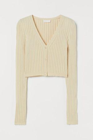 H&M Women Cardigans - Ribbed cardigan