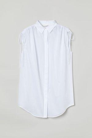 H&M Women Tank Tops - Sleeveless cotton shirt
