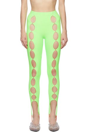 Marshall Columbia SSENSE Exclusive Cut Out Stirrup Leggings