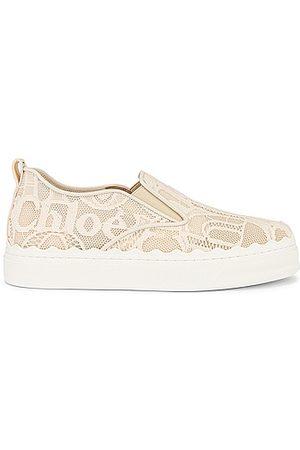 Chloé Lauren Lace Sneakers in Mild