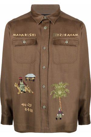 Maharishi Men Casual - Story Cloth Mil shirt
