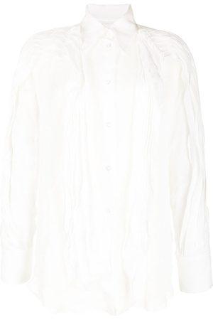 MATICEVSKI Women Long Sleeve - Slit-detail layered shirt