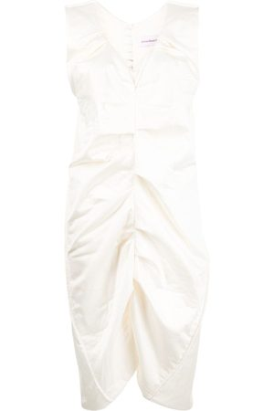 Jordan Dalah Studio Ruched long-length vest